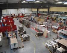 Overview of the Caméga Tôlerie workshop